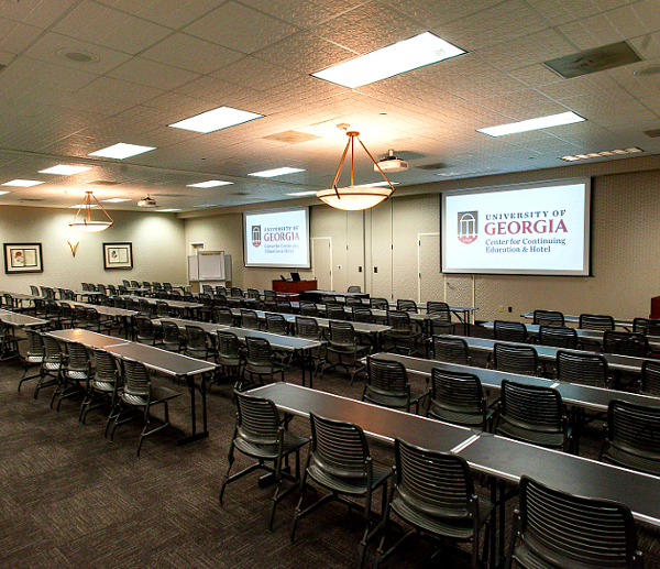 Conference Facilities in Athens, Georgia | K Classroom Setup