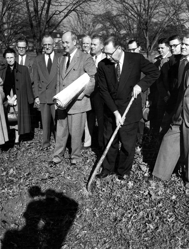 Breaking Ground at the Georgia Center in the 1950's