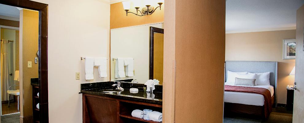 Club Queen Suite - Bathroom Detail
