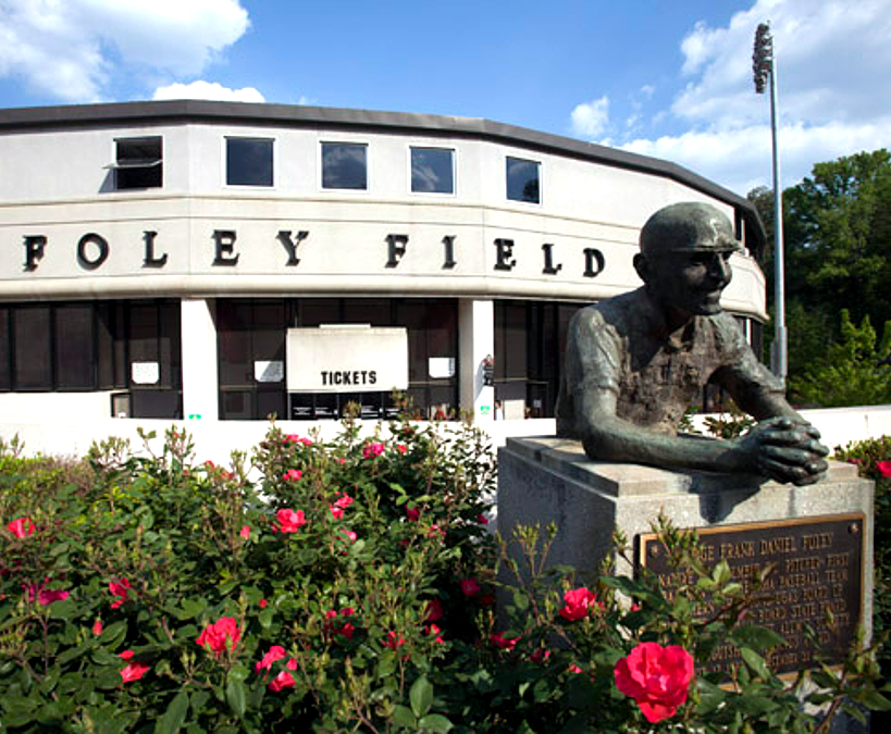 Foley Field near our UGA Hotel