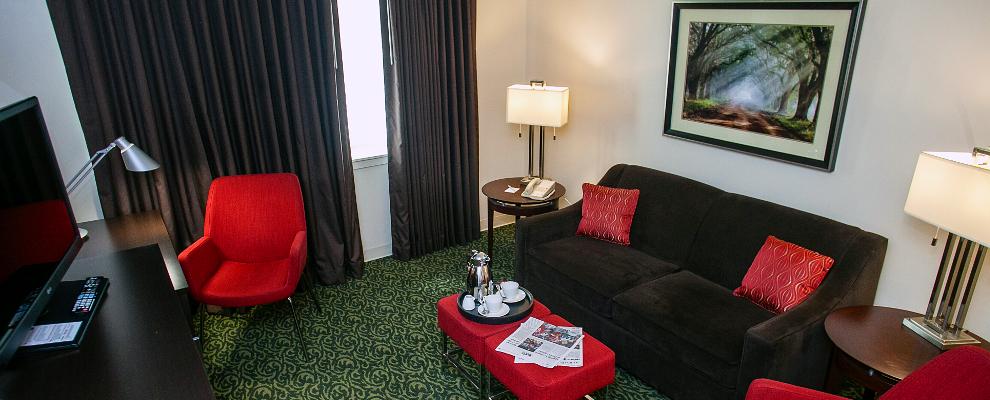 Lumpkin Suite living room