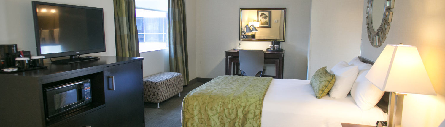 Select Double Room at the UGA Hotel in Athens