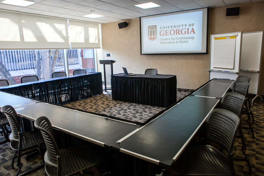 Conference rooms at the Georgia Center
