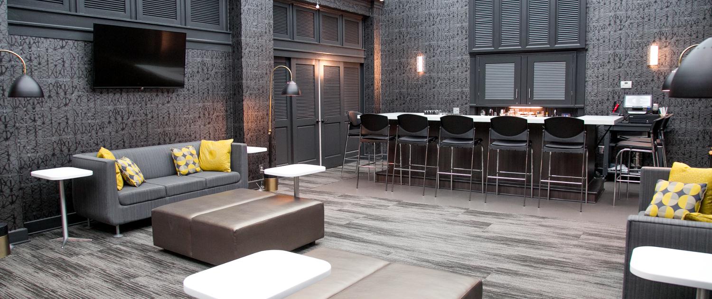 The Savannah Room bar - the only bar on UGA campus