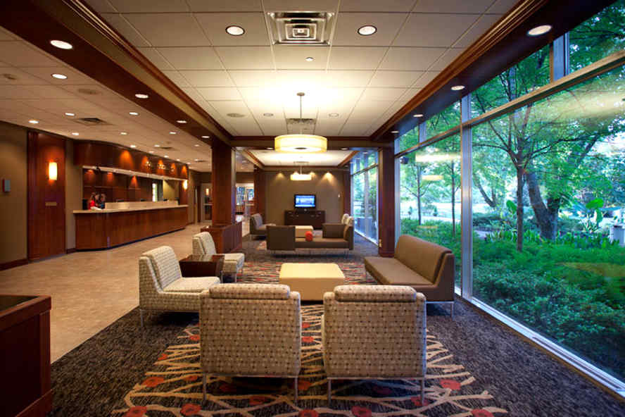 UGA hotel lobby