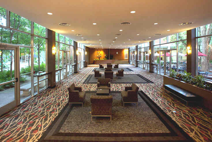 Pecan Tree Galleria, open meeting space in Athens, GA