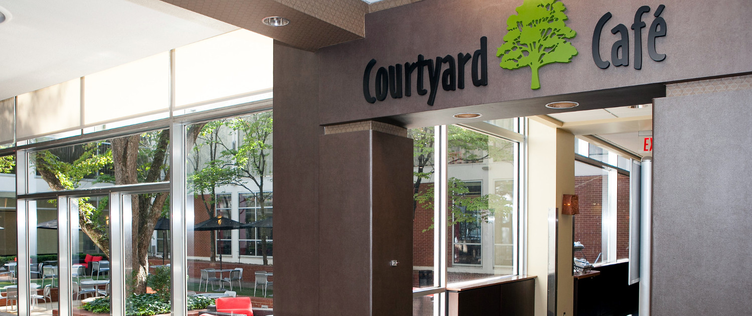 The Courtyard Cafe Front