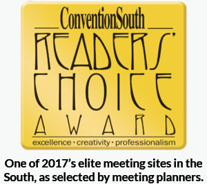 ConventionSouth Readers' Choice logo