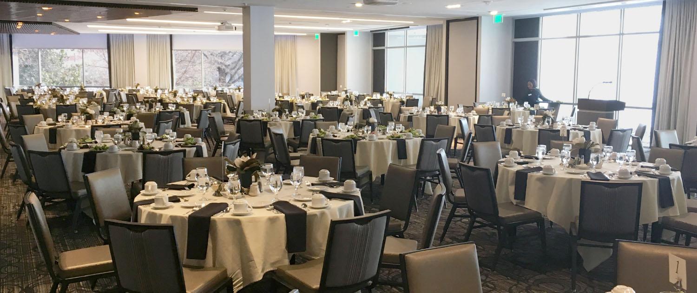 The Magnolia Ballroom at UGA Hotel & Conference Center in Athens, GA