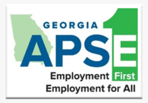 Georgia APSE Employment First logo