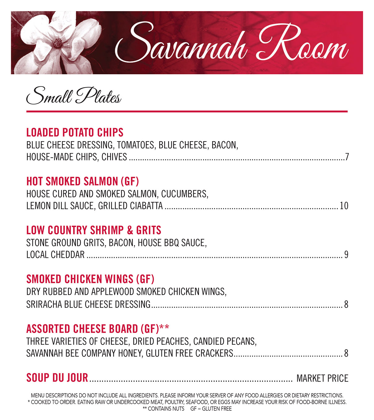 The Savannah Room At The Uga Hotel Athens Ga Restaurants