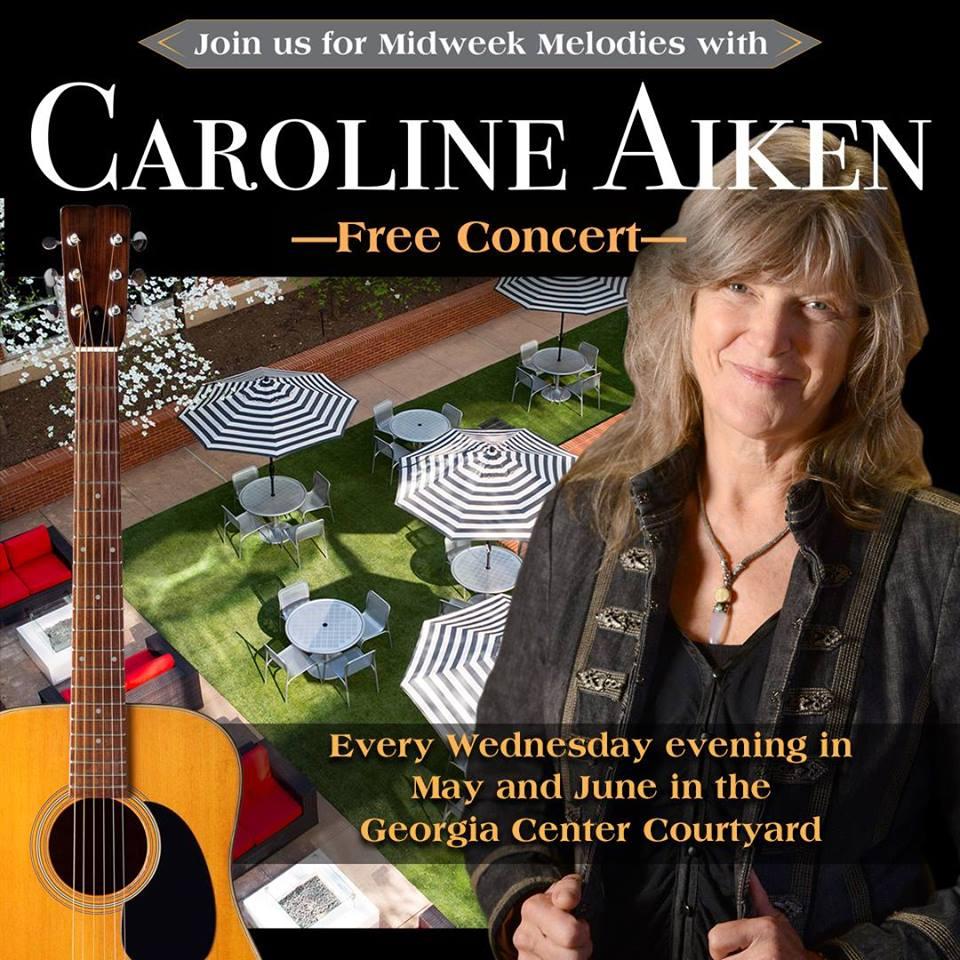 Caroline Aiken at The Georgia Center in Athens, GA