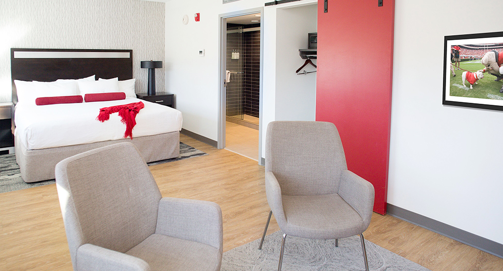 Spacious Suites at the UGA Hotel in Athens, GA