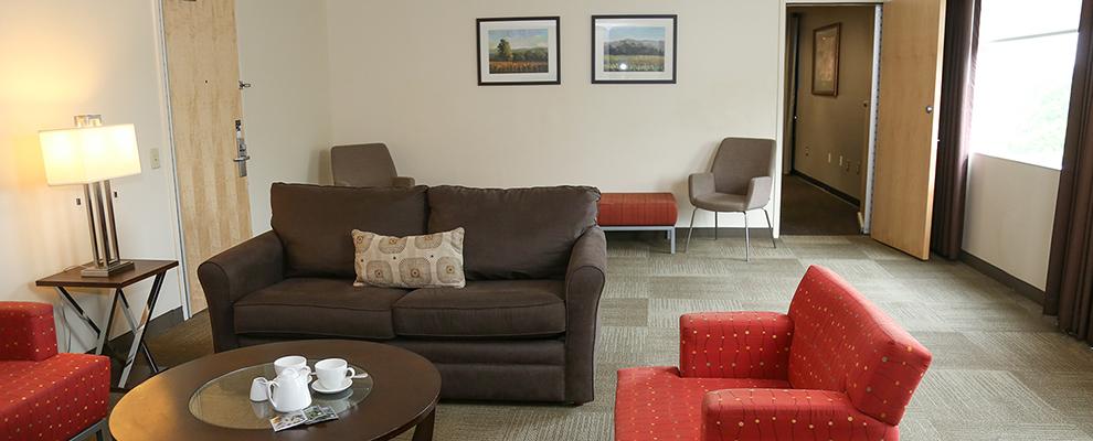 Alumni Suite Living Area