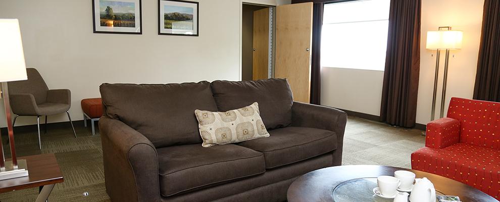 Alumni Suite Living Room - Athens Hotel Suites