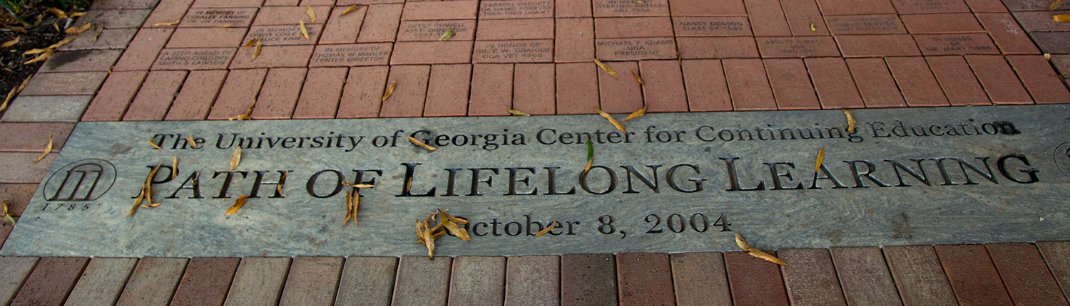 Path of Lifelong Learning - Continuing Education at the University of Georgia