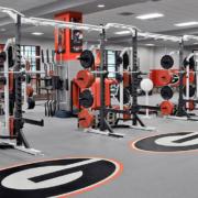Georgia Bulldog Training Room on UGA Campus